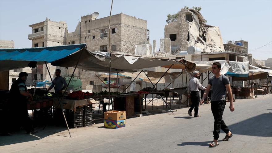 Informe: Sanciones empujan a sirios cansados de guerra a pobreza | HISPANTV
