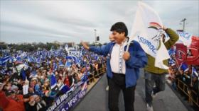 Morales confía en lograr más de 4 millones de votos en las elecciones