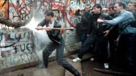 'Una Alemania aún dividida tras la caída del muro de Berlín'