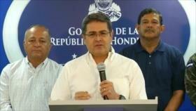 Presidente hondureño, implicado en tráfico de drogas a EEUU