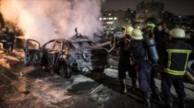 Explosión de una bomba de oxígeno en El Cairo deja 17 muertos