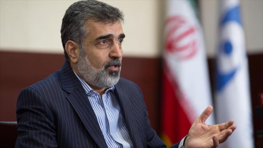 El portavoz de la Organización de Energía Atómica de Irán (OEAI), Behruz Kamalvandi.