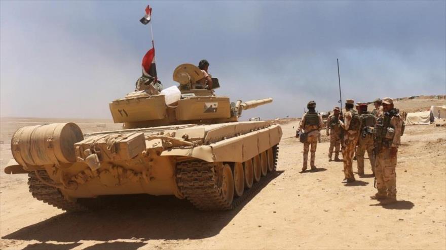 Soldados iraquíes en el sur de la ciudad de Mosul, en la provincia norteña de Nínive, junio de 2016. (Foto: Reuters)