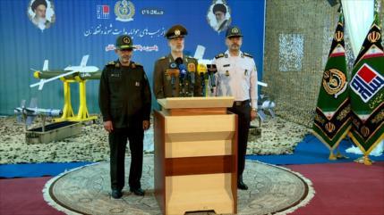Irán presenta nuevas bombas guiadas de alta precisión