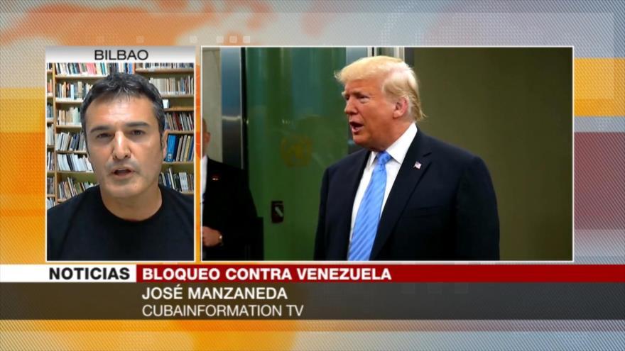 Manzaneda: Sanciones de EEUU contra Venezuela es parte de su show