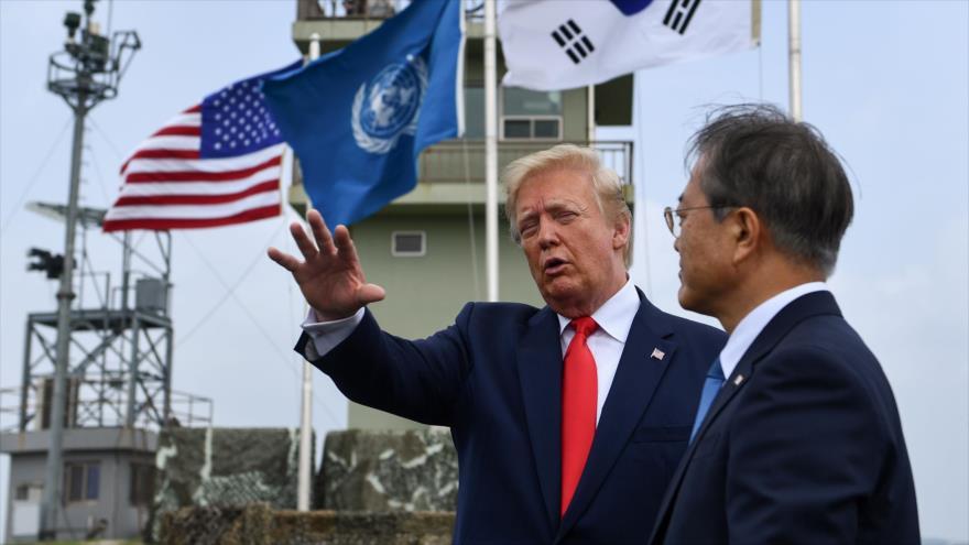 Trump: Seúl es muy rico y pagará más por protección militar de EEUU | HISPANTV