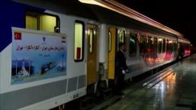 Se inaugura vía ferroviaria entre Teherán y Ankara