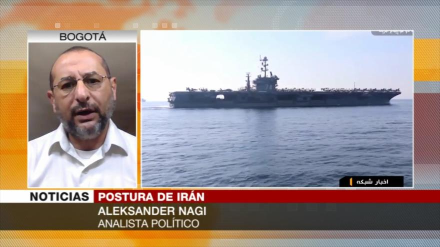 """Nagi: Será """"temeraria"""" respuesta de Irán a EEUU en Golfo Pérsico"""