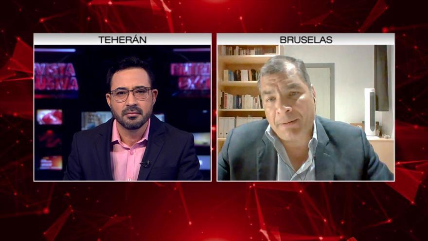 Entrevista exclusiva de Rafael Correa con HispanTV (completa)