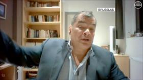 Correa a HispanTV: Si fuera a la cárcel, de ahí no saldría vivo