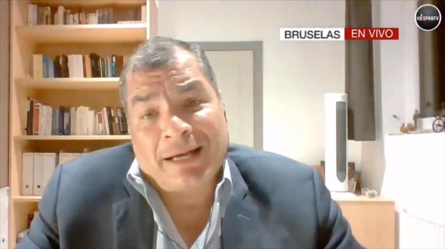 Correa: Moreno es un presidente corrupto que tiene apoyo de EEUU | HISPANTV