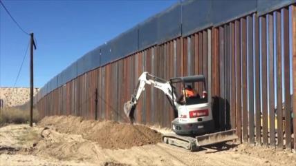 Con pensiones de los militares, EEUU construirá parte del muro