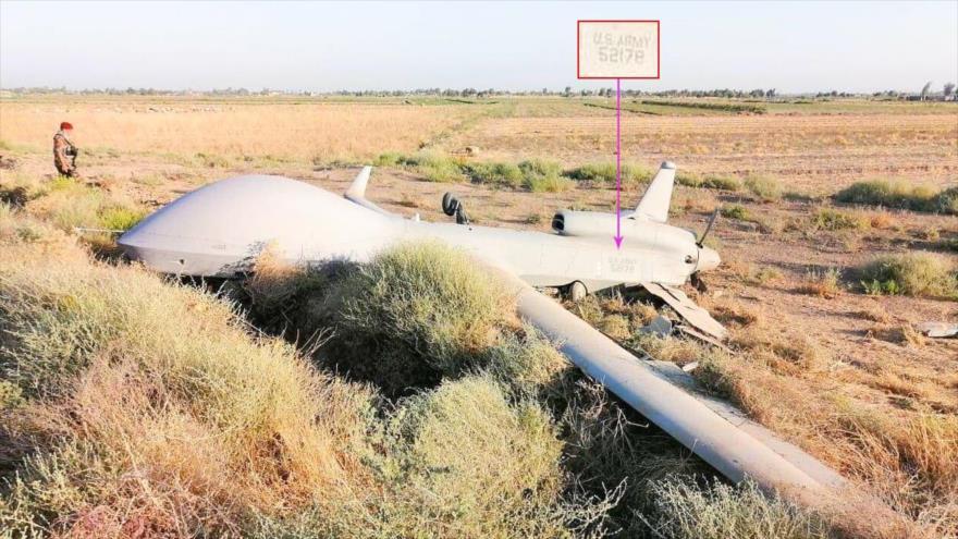 Un dron espía de EEUU cae en Bagdad, la capital de Irak | HISPANTV