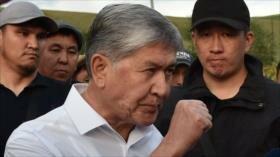 Arresto del expresidente kirguís genera disturbios en el país