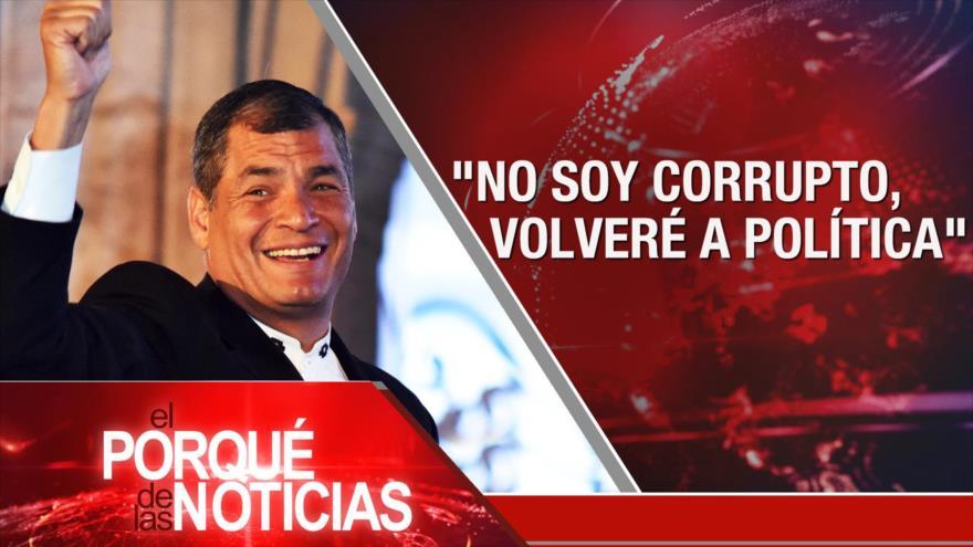 El Porqué de las Noticias: Entrevista exclusiva. Bloqueo contra Venezuela. Redadas de ICE en EEUU