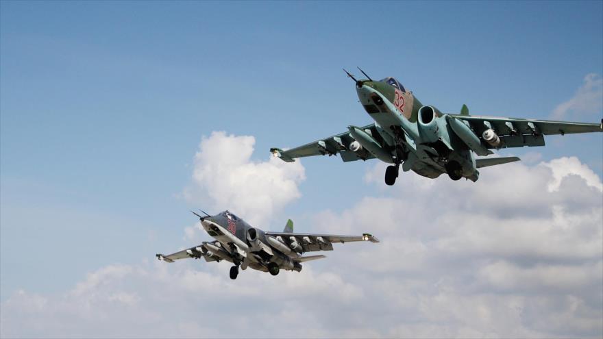 Vídeo: Caza ruso destruye tanque de terroristas en Hama   HISPANTV