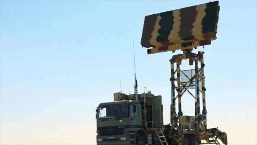"""Radar """"Bashir"""", desarrollado por los expertos iraníes."""