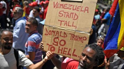 'Bloqueo de EEUU a Caracas causa más resistencia de venezolanos'