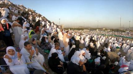 Continúa peregrinación del Hach en Arabia Saudí