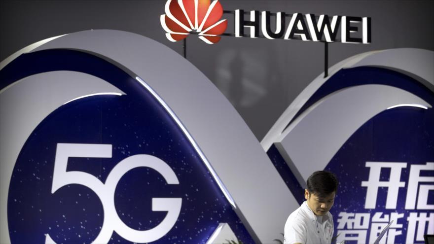 El gigante chino de telecomunicaciones Huawei.