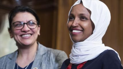 Trump pide que Israel vete entrada de dos congresistas musulmanas