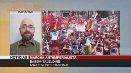 Tajeldin: Venezolanos muestran coraje ante hostilidades de EEUU
