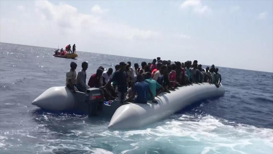 Rescate de migrantes aumenta disputa entre países europeos