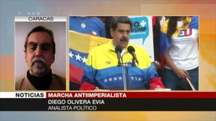 Olivera: Venezolanos buscan independizarse de dictadura de EEUU