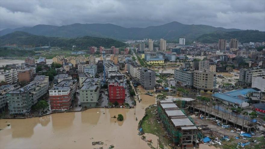 El tifón Lekima deja 32 muertos en China.