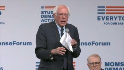 Violencia armada en EEUU, debate de precandidatos demócratas