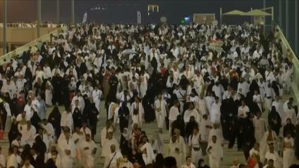 Los peregrinos del Hach celebran el día de Arafat