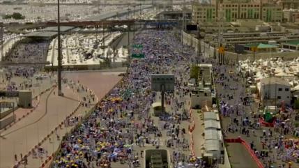 Los peregrinos del Hach festejan Eid Al-Adha