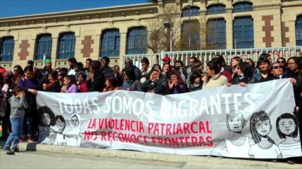 Inmigrantes en Chile resisten arremetida fascista