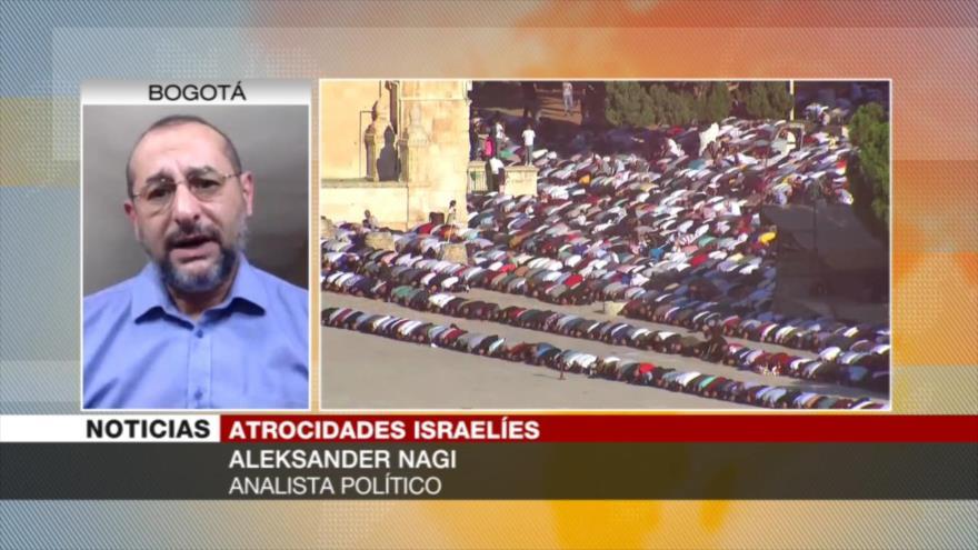Nagi: Lo que hace Israel no tiene perdón ni explicación