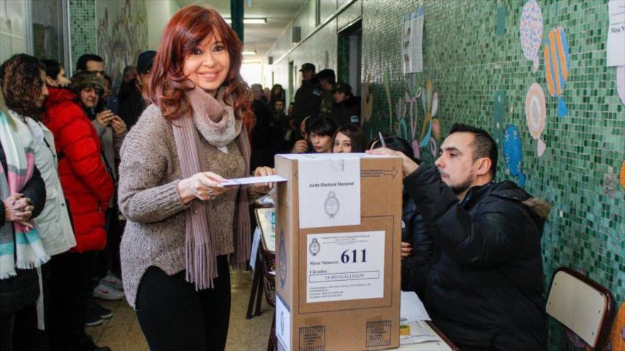 Cristina Fernández: Resultados de comicios reflejan voz del pueblo