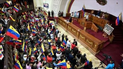 ANC de Venezuela aprueba acuerdo contra bloqueo impuesto por EEUU