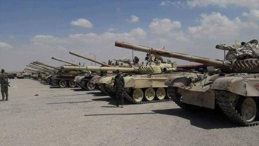 Vídeo y fotos: Siria envía convoy a Idlib y espera tanques rusos