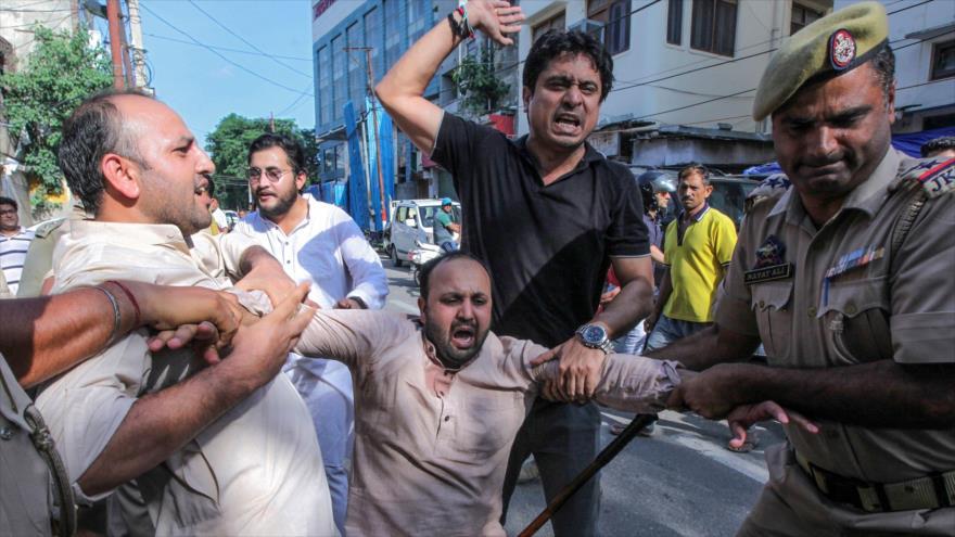 "HRW denuncia ""tratamiento agresivo"" de La India en Cachemira | HISPANTV"