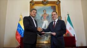 Nuevo embajador de Irán presenta su carta credencial en Venezuela