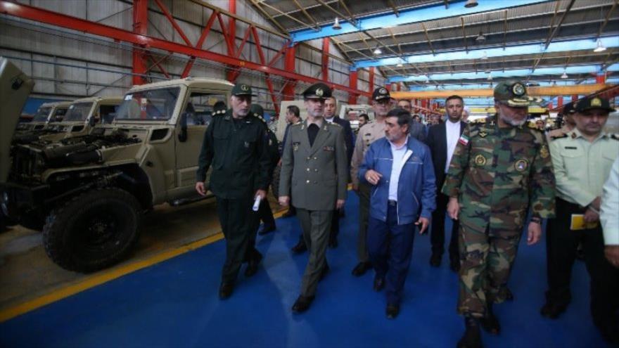Irán presenta vehículo táctico y blindado de fabricación nacional | HISPANTV