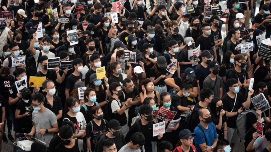 Hong Kong: la violencia lleva el país por un camino sin retorno