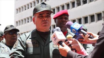 Fuerza Armada de Venezuela repudia bloqueo de EEUU