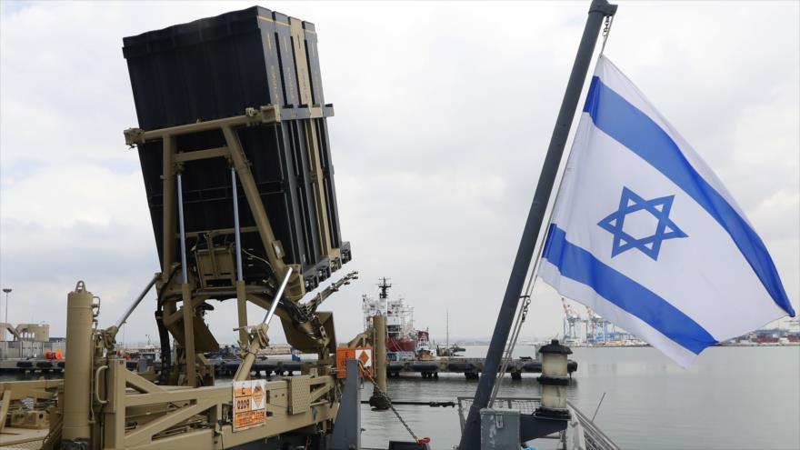 Un sistema antimisiles israelí Cúpula de Hierro en la Palestina ocupada, 12 de febrero de 2019. (Foto: AFP)