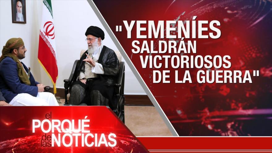 """El Porqué de las Noticias: Guerra saudí contra Yemen. """"No más Trump"""". Protestas contra Bolsonaro"""