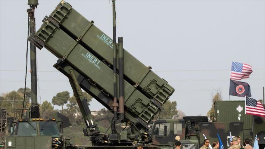 El sistema de misiles antiaéreos Patriot estadounidense.
