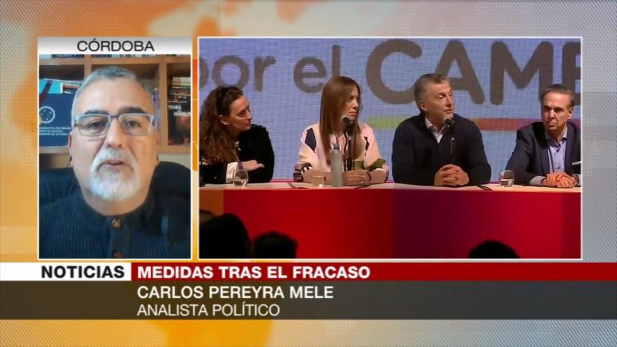 Pereyra Mele: Macri trata de poner barniz a su imagen violenta