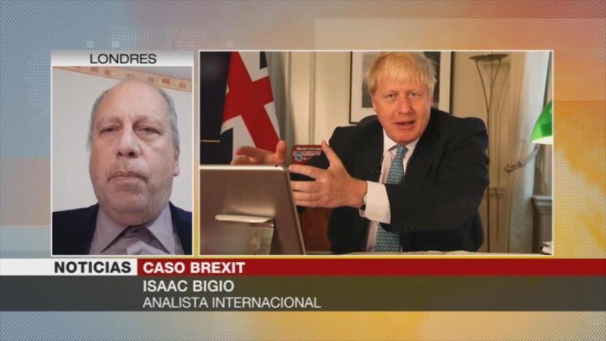 Bigio tilda de 'improbable' salida de Londres de UE sin un acuerdo
