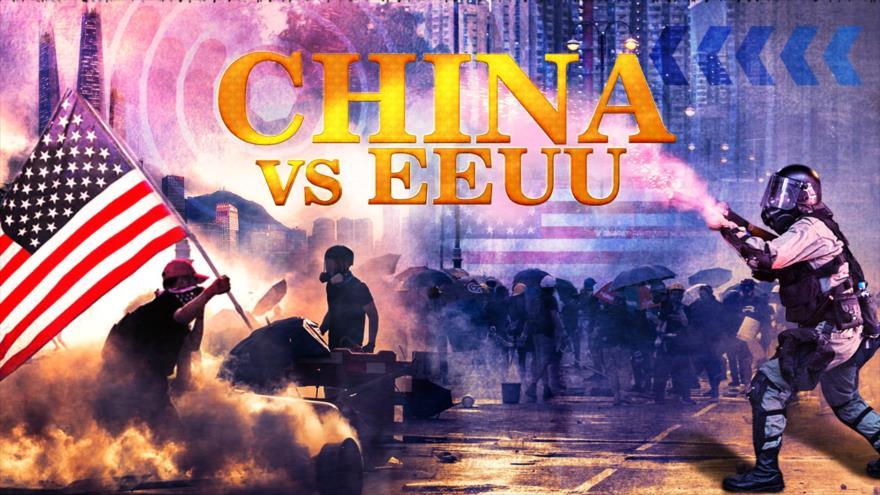 Detrás de la Razón; Alerta de nueva guerra: EEUU vs China por el rico Hong Kong, la capital de los rascacielos