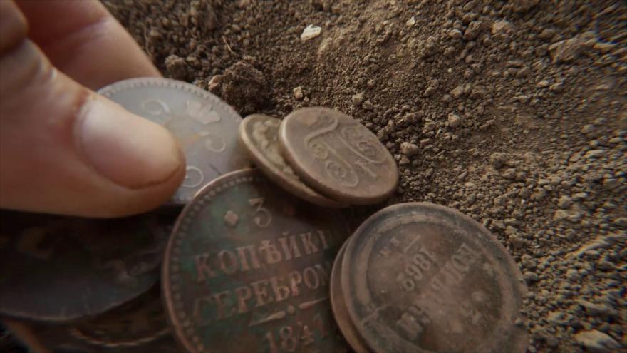 El tesoro fue hallado durante las excavaciones realizadas en Fanagoria.