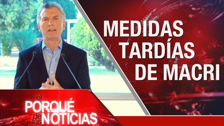 El Porqué de las Noticias: Rohani advierte sobre planes de EEUU. Macri y economía de Argentina. Brexit sin acuerdo